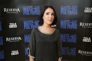 Anita Rocha da Silveira na pré-estreia em São Paulo (Foto: Ali Karakas)