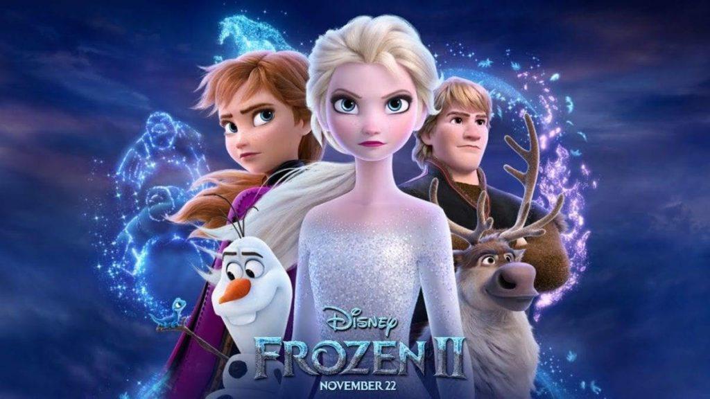 Frozen 2  veja também: star wars, dois irmãos,