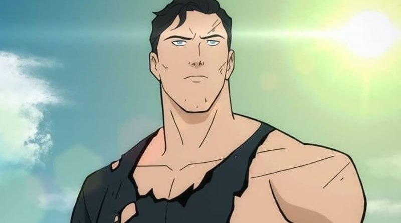 superman dc comics animação