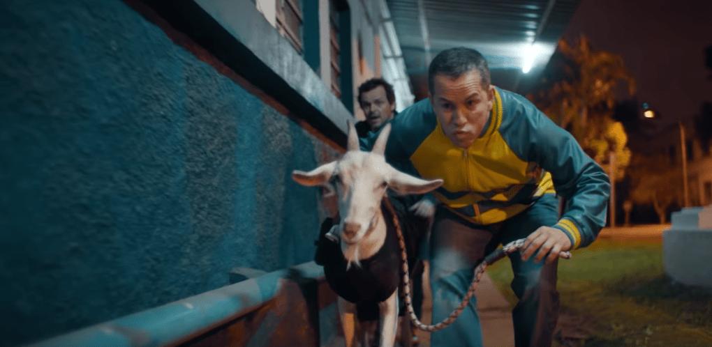 Na netflix , cabras da peste com Matheus Nachtergaele ironiza falas de Bolsonaro